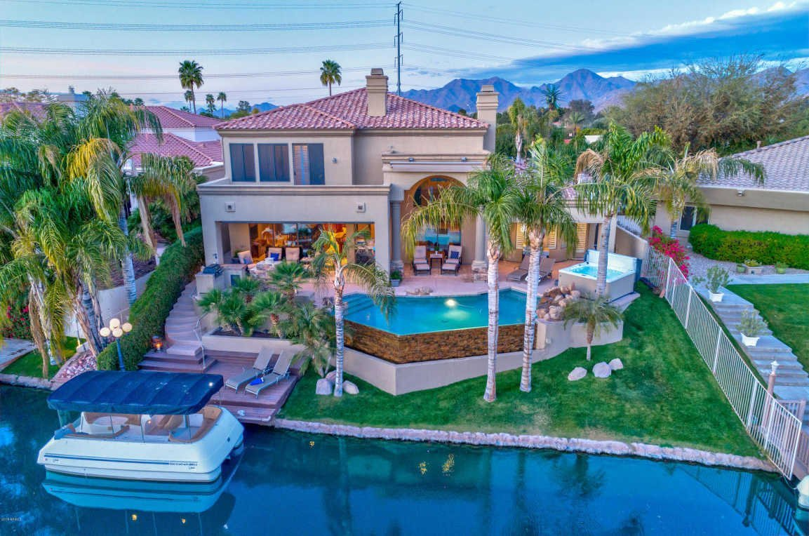 Ocotillo Waterfront Home for Sale